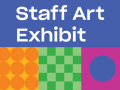 Staff Art Exhibit logo